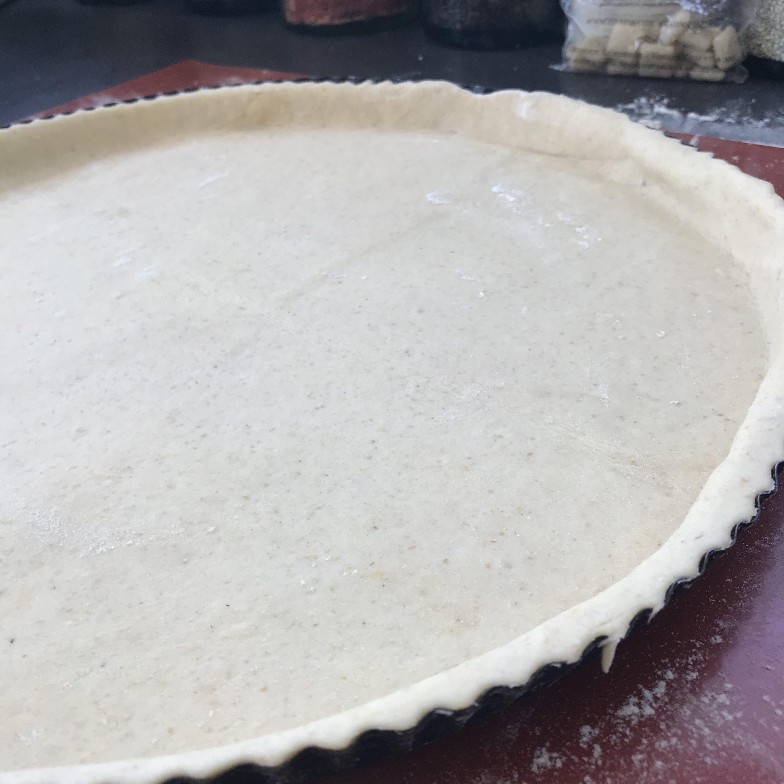 recette pate à tarte sans gluten